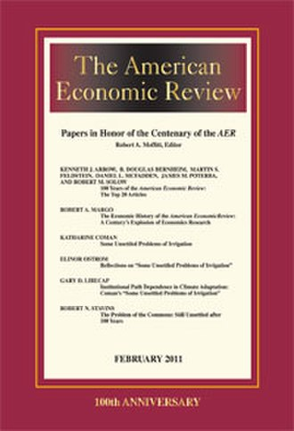 The American Economic Review - Cover