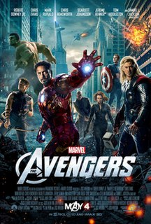 <i>The Avengers</i> (2012 film) 2012 superhero film produced by Marvel Studios