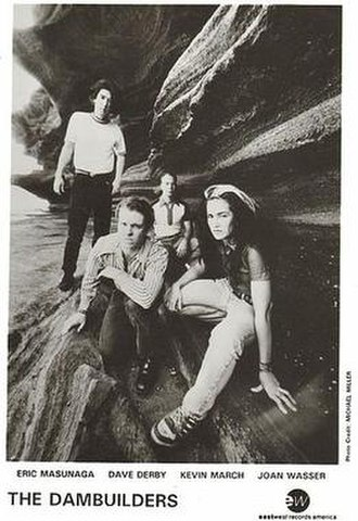 The Dambuilders - The Dambuilders, 1994.  L-R: Eric Masunaga, Dave Derby, Kevin March and Joan Wasser.