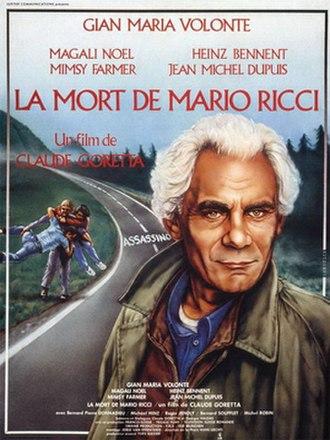 The Death of Mario Ricci - Film poster