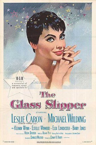 The Glass Slipper - Original film poster