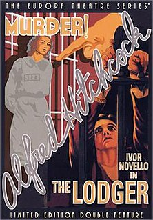 <i>The Lodger: A Story of the London Fog</i> 1927 film by Alfred Hitchcock, Alma Reville