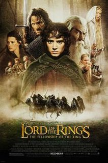 <i>The Lord of the Rings: The Fellowship of the Ring</i> 2001 fantasy film directed by Peter Jackson