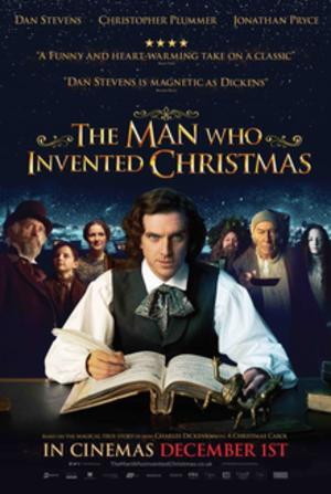 The Man Who Invented Christmas (film) - Theatrical release poster