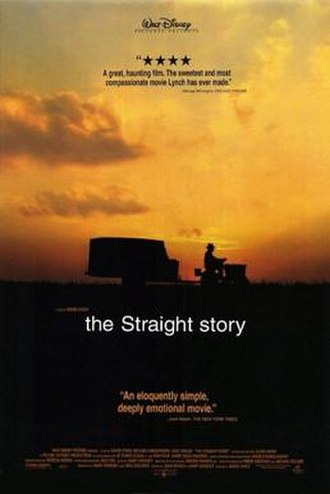 The Straight Story - Theatrical release poster