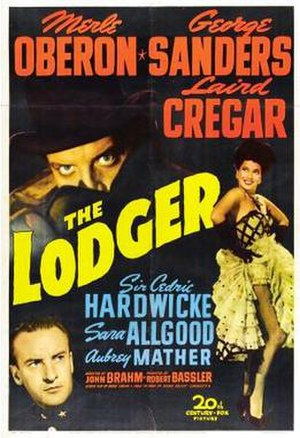 The Lodger (1944 film) - Theatrical release poster