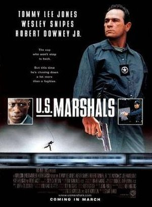 U.S. Marshals (film) - Theatrical release poster