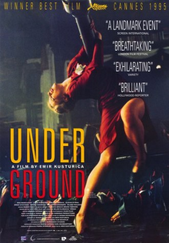 Underground (1995 film) - Theatrical release poster