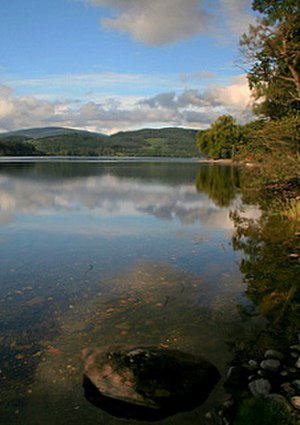 Loch Ard - The crystal clear waters of Loch Ard