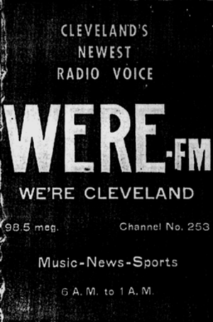WJMO - 1948 WERE-FM advertisement