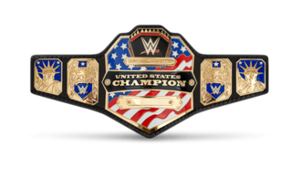 WWE United States Championship - The current United States Championship belt (2014–present)