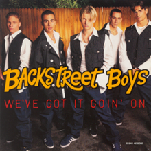Backstreet Boys — We've Got It Goin' On (studio acapella)