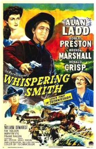 Whispering Smith - Image: Whispering Smith poster