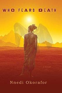 <i>Who Fears Death</i> book by Nnedi Okorafor