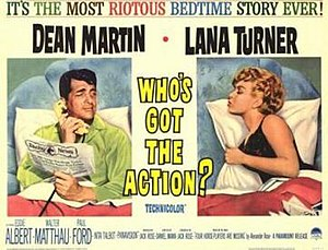 Who's Got the Action? - Promotional movie poster for the film