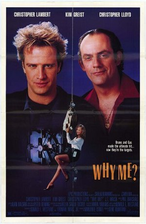 Why Me? (1990 film) - Image: Why Me film poster