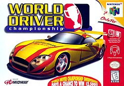 World Driver Championship US packaging