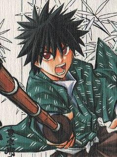 Myōjin Yahiko Fictional character from Rurouni Kenshin