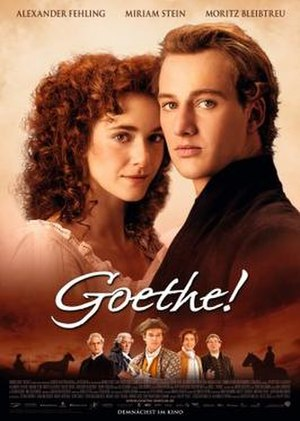 Young Goethe in Love - Film poster