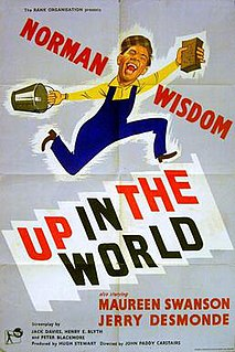 <i>Up in the World</i> 1956 film by John Paddy Carstairs