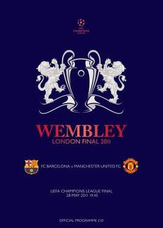 2011 UEFA Champions League Final - Image: 2011 UEFA Champions League Final logo