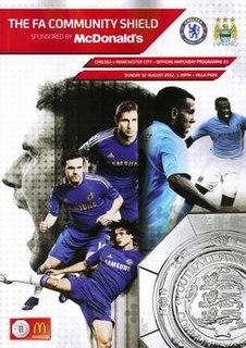 2012 FA Community Shield Football match