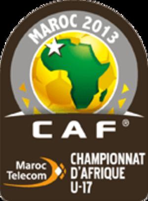 2013 African U-17 Championship - Image: 2013 African U 17 Championship