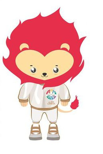2015 Southeast Asian Games - Nila, the lion, official mascot of the games.