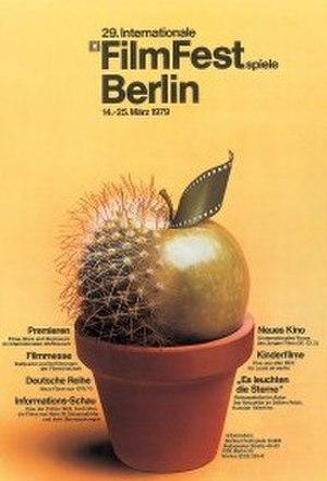 29th Berlin International Film Festival - Festival poster