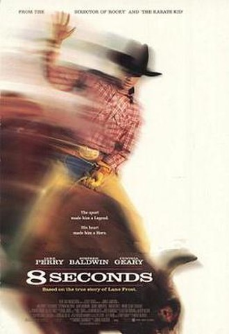 8 Seconds - Theatrical release poster