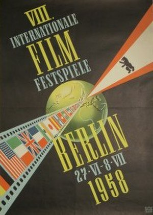 8th Berlin International Film Festival - Festival poster