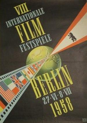8th Berlin International Film Festival - Festival poster