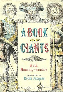 <i>A Book of Giants</i> 1963 fairy tale book by Ruth Manning-Sanders