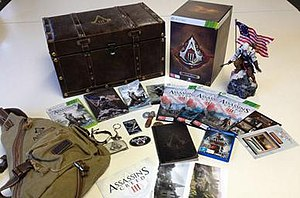 "Assassin's Creed III - Ubisoft Australia put together a ""very special, very limited"" edition of Assassin's Creed III to auction off in benefit of the Sydney Children's Hospital Foundation. There are only ten of these editions in the world, and eight of them were auctioned off to raise money for the Sydney Children's Hospital in Randwick."
