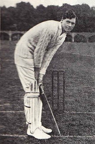 Mote Park (cricket ground) - Percy Chapman made the highest individual score at Mote Park in 1927