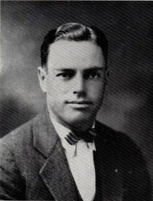 A. B. Morris - Morris pictured in Prickly Pear 1925, Abilene Christian yearbook