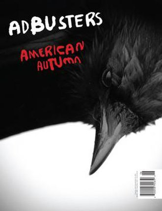 Adbusters - Image: Adbusters 98 American Autumn cover