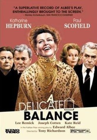 A Delicate Balance (film) - DVD cover