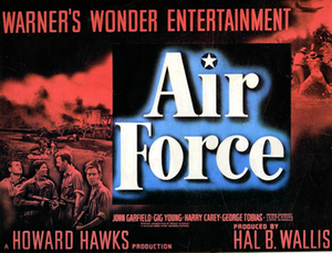 Air Force (film) - Theatrical release half-sheet display poster