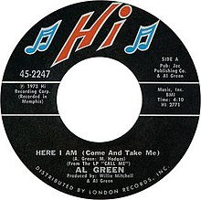 Al Green Here I Am (Come and Take Me).jpg