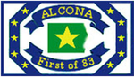 Logo of Alcona County, Michigan