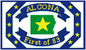 Alcona County, Michigan - Image: Alcona logo