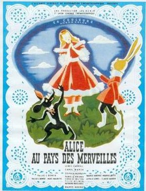 Alice in Wonderland (1949 film) - Image: Alice Wonderland French Poster
