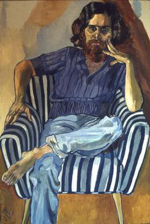 Alice Neel - Dana Gordon by Alice Neel, 1972