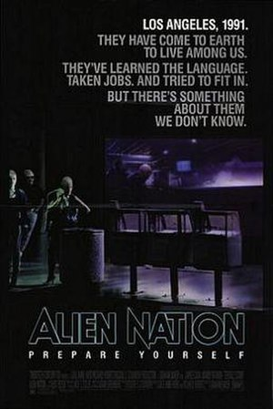 Alien Nation (film) - Theatrical release poster