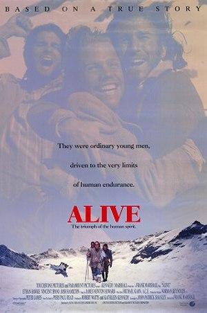 Alive (1993 film) - Image: Alive 92poster