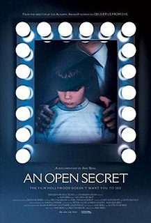 2014 documentary film by Amy J. Berg on child sexual abuse in California