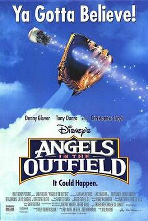 Angels in the Outfield (1994 film) - Theatrical release poster
