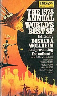 <i>The 1978 Annual Worlds Best SF</i> book by Donald A. Wollheim