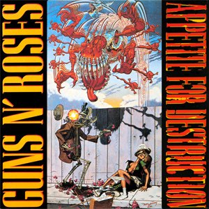 Appetite for Destruction - The artwork originally planned for Appetite for Destruction